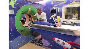 Foto de El Hospital Sant Joan de Déu y HP transforman las pruebas de diagnóstico por imagen en una aventura en el espacio