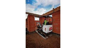 Foto de Nueva generación de excavadoras compactas Bobcat de 1-2 toneladas