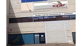 Foto de Scorp inaugura un centro tecnológico y logístico en Zaragoza