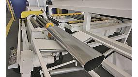 Foto de Lomusa entrega una línea automática MG para fabricar tubos de escape