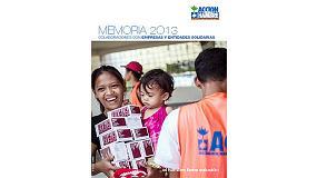 Foto de Imcoinsa, incluida en la Memoria 2013 de Acción contra el Hambre