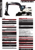 HMK200W GEN Series - Excavadora de Ruedas Hidromek