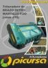 Trituradora de Brazo Retro Martillo Fijo - ROTOR 390