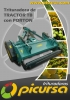 Trituradora de Tractor TB con Portón