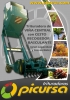 Trituradora de Viña Central con Cesto Recogedor Basculante de GRAN CAPACIDAD