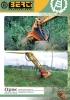 Cabezales desbrozadores forestales serie TBM/SB