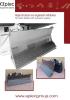 Hojas dozer con angulación horizontal y vertical hidráulicas