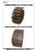 Orugas - Cadenas de hierro con tacos de goma