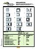 Tipos de aplicacion para brocas de agujeros cortos