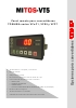 Panel remoto Toshiba MITOS-VT5: para convertidores Toshiba series VFnC1, VFS9 y VFP7
