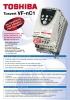Convertidor de frecuencia de alimentación monofásica Tosvert VF-nC1