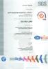 Certificado de calidad (ISO 9001)