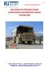 Sistema de pesaje para camiones dumper de gran tonelaje