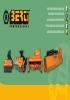 Cabezales desbrozadores Berti - Catálogo gama de productos