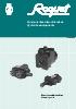 Cat�logo Direcciones Hidrost�ticas Mod. Roquet - 1DH/1DM