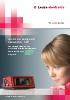 Lector de codi de barres BCL 500i - la nova generació amb multitud d'interfícies integrats (p. ex. Profinet)