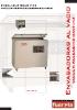 Fuerpla - Envasadoras al vacio VAC-100 / VAC-200 / VAC-210 / VAC-400 / VAC-630 / VAC-920 / VAC-1000