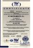 Certificado de calidad ISO9001:2008