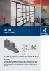 Catálogo sistemas para correderas elevables de aluminio.