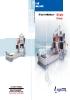 Centro CNC de mecanizado de doble columna Cyclone serie CMT - CFT