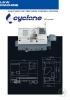 Torno CNC de bancada inclinada Cyclone serie FCL