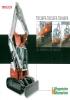 Excavadoras compactas T138FR, TB153FR, TB180FR