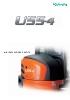 Miniexcavadora 5400 kg KUBOTA U55-4 giro ultracorto