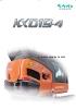 Miniexcavadora 1780kg KUBOTA KX019-4