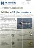 Conectores para AC con filtro EMI/RF Immunity