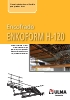 Encofrado Horizontal Pesado ENKOFORM H-120