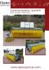 Barredoras de cucharón reforzadas serie MVR - cubierta abierta