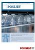 Transportador de aire para botellas de plástico Posijet