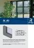 Catálogo sistemas para ventanas y puertas de aluminio