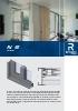 Catálogo sistemas para correderas de aluminio