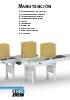 Manutención: transportadores, curvas, etc