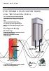 Termos eléctricos Duo de 15 a 30 / 50 a 100 litros