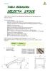 Tabla de sacudimiento (Criba) mod. Selecta Stock_ Ortomec