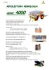 Recolectora remolcada Serie 4000_Ortomec