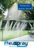 Sistema para nebulizar y refrescar Misting Cooling