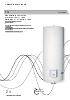Termo eléctrico TG de 150 a 500 litros