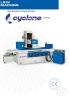 Rectificadora CNC tangencial Cyclone serie G