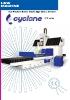 Rectificadora CNC tangencial doble columna Cyclone serie DCG