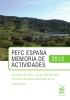 Memoria de Actividades 2012_PEFC