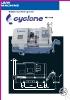 Torno CNC de bancada inclinada de muti-ejes Cyclone serie FCL