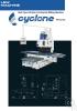 Fresadora CNC vertical y horitzontal Cyclone serie VH