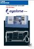 Torno CNC de bancada inclinada con guias prismaticas Cyclone serie TC