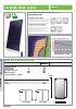 Colector solar vertical Kairos XP 2.5-1 V