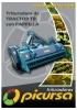 Trituradora TB C/Parrilla