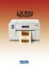 Impresora a color para etiquetas LX810