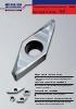 Placas rompevirutas para el torneado de aluminio